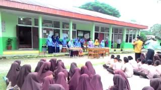Karawitan SMA Islam Raudhatul  Jannah di SMP N 1 Akabiluru, Kab.Lima Puluh Kota..