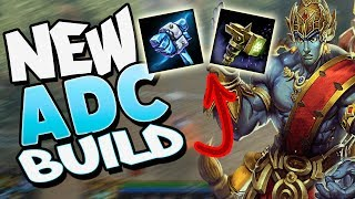 Smite: Experimental ADC Rama Build - IS THIS ALTERNATE BUILD OP?