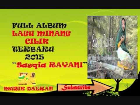 KUMPULAN Lagu Minang Cilik Sasqia RAYANI - Album Tangih Ranah Bundo