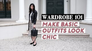 MAKE BASIC OUTFITS LOOK CHIC: How to elevate your style (minimal/scandi style outfits)| Mademoiselle