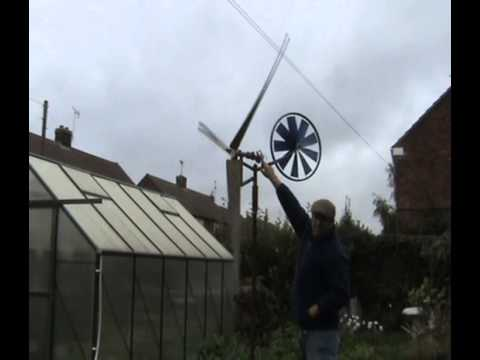 Pete From Petepower Generators Home Made Wind Generator
