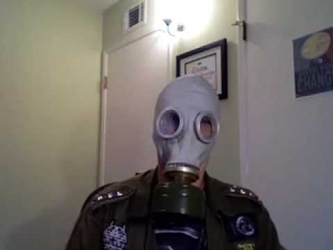 Russian GP-5 Civilian Gas Mask