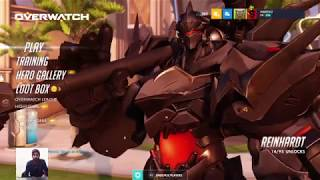 Overwatch competitive Gameplay Live PS4 with friends