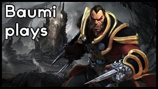 Dota 2 | FIGHTING AGAINST DOUBLE RAPIERS!! SICK GAME! | Baumi plays Lycan