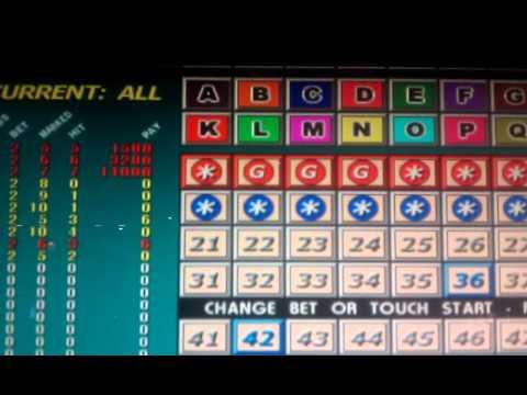 4 card keno jackpots foxwoods resort