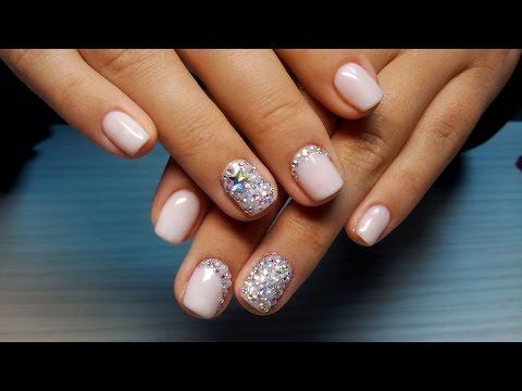 Маникюр на короткие ногти дизайн 2018 на новый