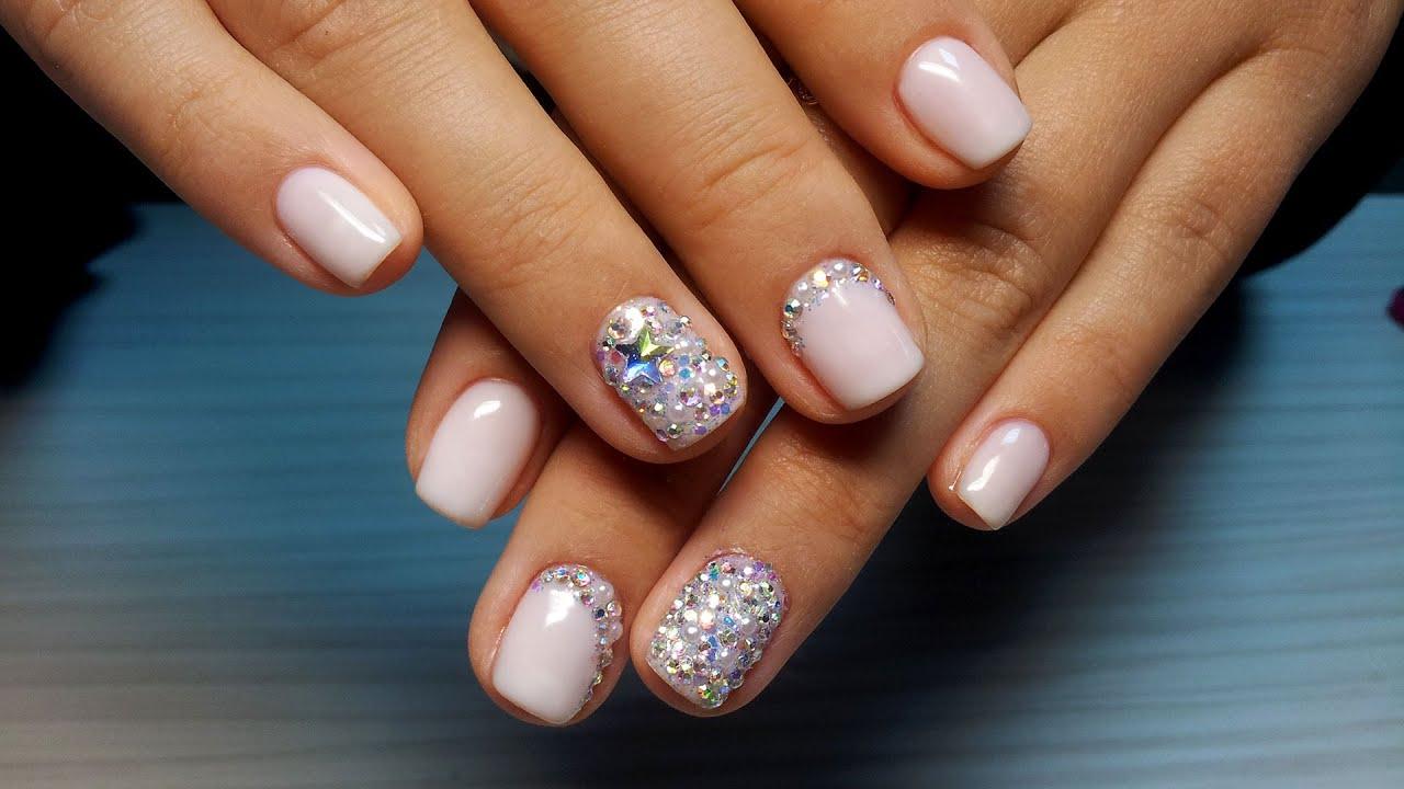 Варианты красивого маникюра на коротких ногтях фото