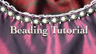 Beading Tutorial - Wrapped Pearls