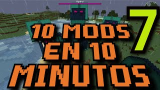 10 MODS EN 10 MINUTOS ║ Ep.007 ║ Minecraft