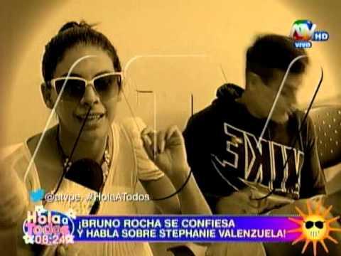 Bruno Rocha Confiesa Amor A Stephanie Valenzuela