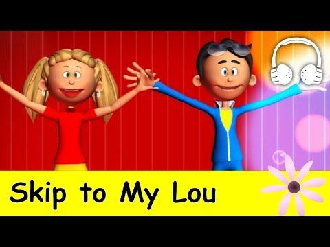 Skip to My Lou | nursery rhymes & children songs with lyrics