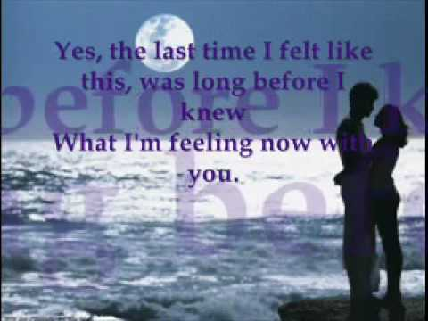 Johnny Mathis and Jane Oliver The Last Time I Felt Like This