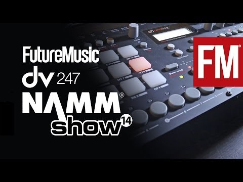 NAMM 2014: Elektron Analog Rytm Drum Machine
