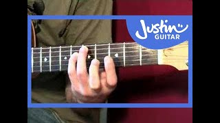 Acoustic Solo Blues Guitar disc 3 DVD DEMO (Guitar Lesson PR-004) How to play