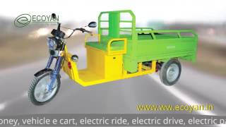 E Rickshaw Cargo Car Passenger Auto By Ecoyan Electric Motor Vehicles Private Limited, Bengaluru