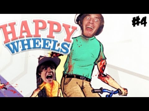 JUSTIN BIEBER IS MY DAUGHTER! D: - Happy Wheels - Part 4