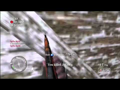NoScope Montage Call of Duty 2 - OLDSCHOOL 2009 =)