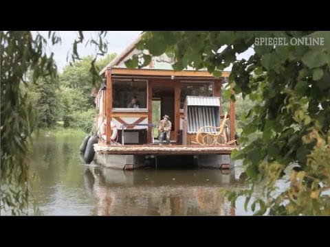 im alten stil fachwerk hausboot erobert die spree spiegel tv youtube. Black Bedroom Furniture Sets. Home Design Ideas