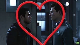 Detroit: Become Human - Gavin and Connor Bromance