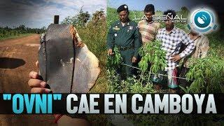 """OVNI"" SE ESTRELLA EN CAMBOYA | ¿Drone, misil o chatarra espacial? ONDA CORTA"