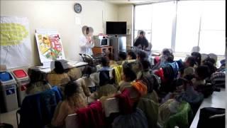 2015/1/14 年長とり1組食育活動『5 a day』