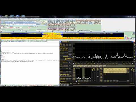 TITANIC Centenary - DDH47 DL0SWA trasmission on 147,3 kHZ 3654 kHz