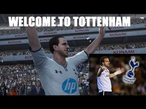 Roberto Soldado - Welcome to Tottenham (Bienvenido a Tottenham) PES 2013 Simulation