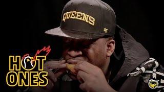 Tony Yayo Talks Shmoney Dance & Eminem's Taco Habit While Eating Spicy Chicken Wings | Hot Ones