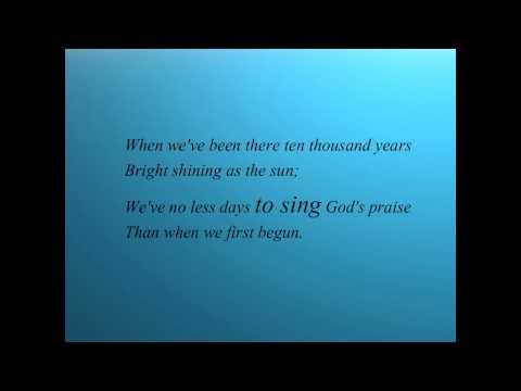Leann Rimes  - Amazing Grace [karaoke Lyrics] video