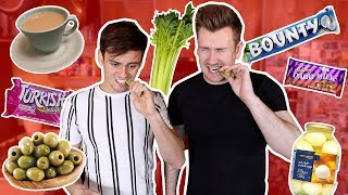 TRYING FOODS TOM DALEY HAS NEVER LIKED