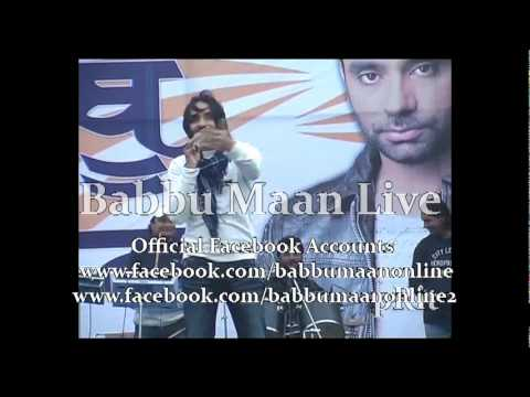 Babbu Maan Mitran Di Chatri Live and Reply  To Chardi Kla Channel...