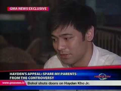 Hayden Kho on the Scandal - The Sh!t hits the Fan Pt. 1