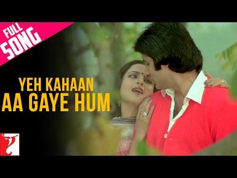 Yeh Kahaan Aa Gaye Hum - Song - Silsila