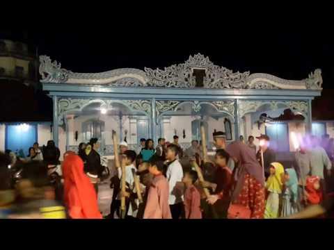 Suasana malam takbiran di Masjid Agung Surakarta 1438H / 2017