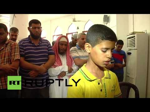 State of Palestine: Hundreds mourn the Abu Dahroug family, killed by F-16 strike *GRAPHIC*
