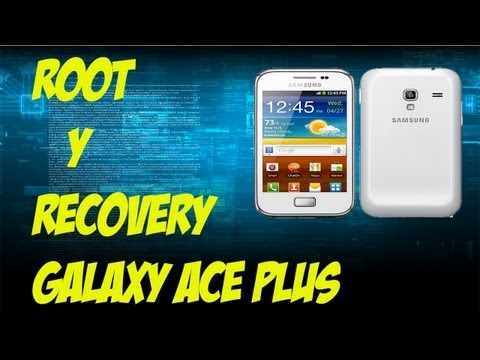 Tutorial   rootear   root   e instalar   clock word mod recovery  galaxy ace plus