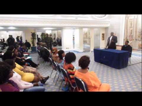 PRES. MUSEVENI MEETS UGANDANS LIVING IN ITALY