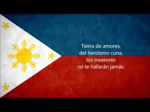 The Philippine National Anthem (in Español,english & Tagalog) video