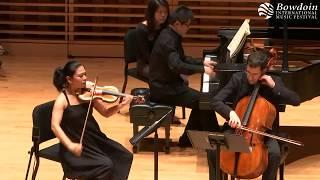 Tchaikovsky Piano Trio Op 50 in A minor. Bowdoin International Music Festival 2017