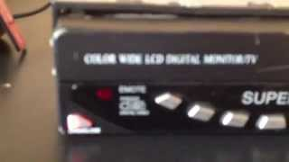 Color wide  digital monitor/TV SUPER