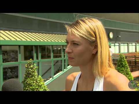 Maria Sharapova's perfect day at Wimbledon - Wimbledon 2014