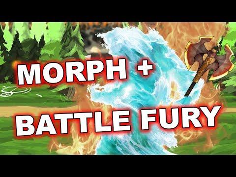 Dota 2 Tricks 7.07c: Morphling with Battle Fury!