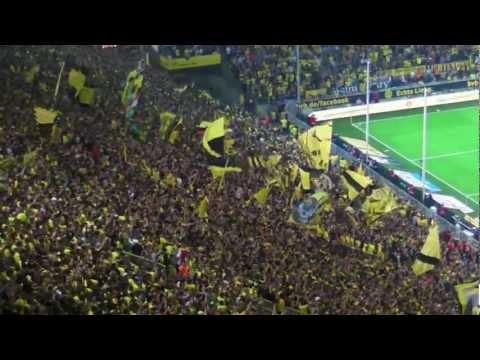 Stimmung Südtribüne: Borussia Dortmund - Werder Bremen Saisoneröffnung BVB 2012/2013 Bundesliga
