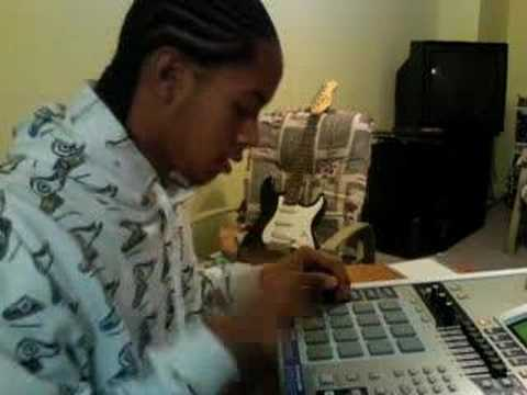 AC Slick Making A Sampled Beat PS NEW EQUIPMENT!!!!