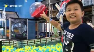 Khu vui chơi NHÀ BÓNG, NHÀ NHÚN, NHÀ CÁT ở tiNiworld Vincom Nguyễn Chí Thanh [Thiếu nhi - For Kids]