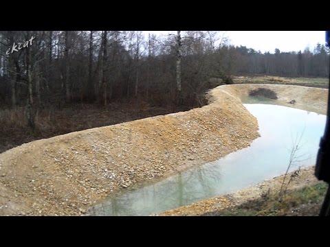 Как выкопать пруд своими руками