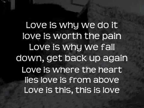 The Script - This is Love with Lyrics