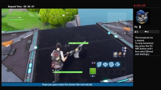 Playing wildcat race on fortnite creative