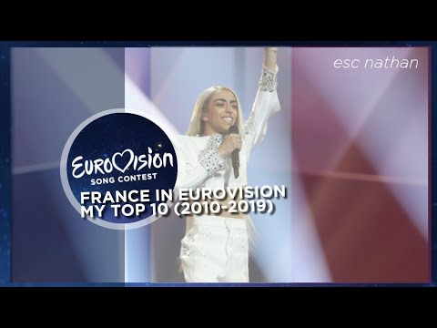 France in the Eurovision Song Contest | My Top 10 (2010-2019)