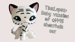 Timelapse Baby Version Of Rainbow Shorthair Cat Lps Custom